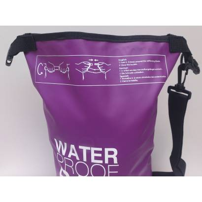 Water proof Dry bag 5L jednobojni ljubicasti