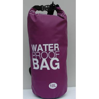 Water proof Dry bag 10L jednobojni ljubicasti