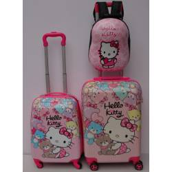 Deciji Koferi set 3u1 mod.31 Hello Kitty Meda